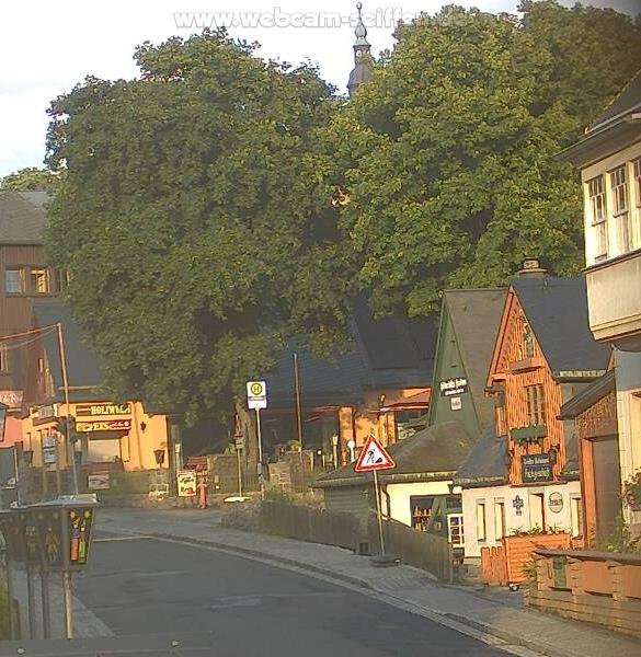 Webcam Skigebiet Seiffen Kirche - Erzgebirge