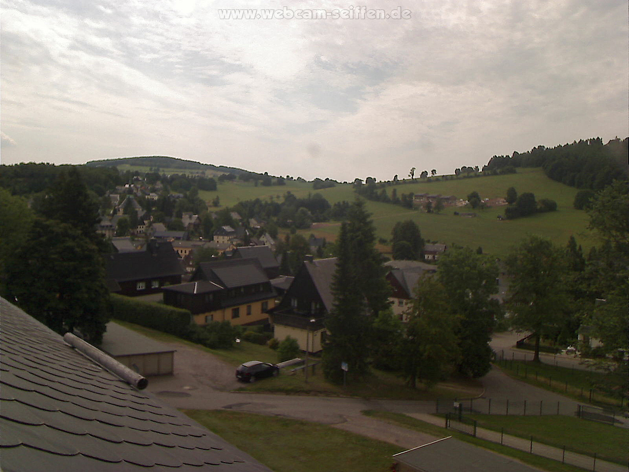 Webcam Skigebiet Seiffen Panorama - Erzgebirge